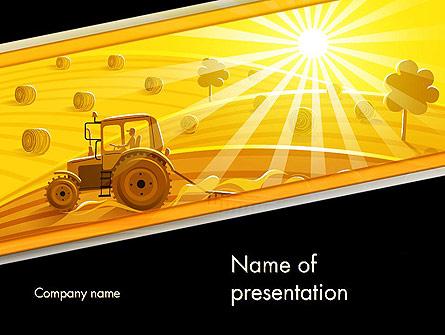 Small Farming Presentation Template, Master Slide