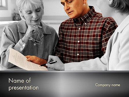 Estate Planning Services Presentation Template, Master Slide