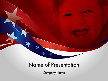 Red White and Pure Presentation Template, Master Slide