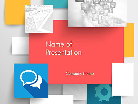 Multilayered Presentation Template, Master Slide