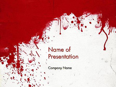 The War Presentation Template, Master Slide