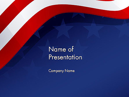4th July Theme Presentation Template, Master Slide