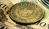 Pile of Old European Money Presentation Template