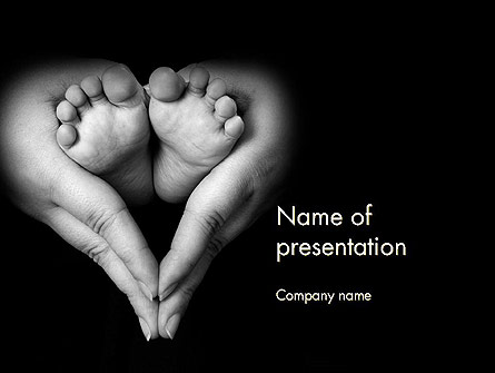 Cute Maternity Presentation Template, Master Slide