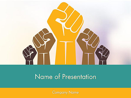 Insurrection Presentation Template, Master Slide
