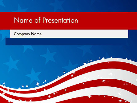 Fourth Of July Presentation Template, Master Slide
