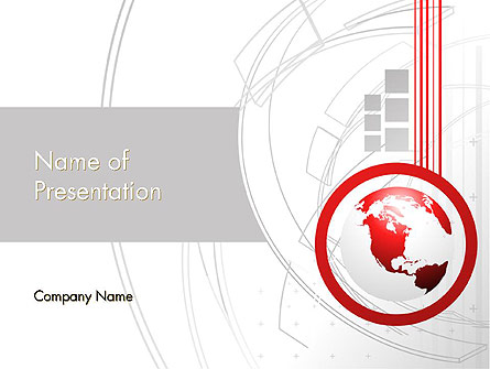 Technological Advancement Presentation Template, Master Slide