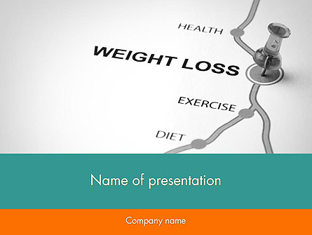Weight Loss Basics Presentation Template, Master Slide
