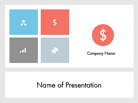 Minimalist Financial Presentation Presentation Template For