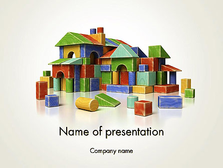 Real Estate Investing Presentation Template, Master Slide