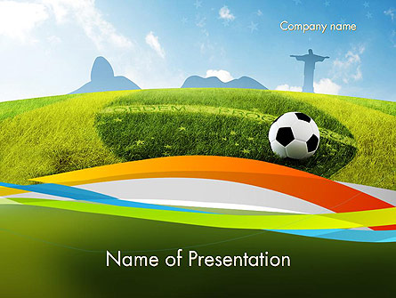 Destination Brazil Presentation Template, Master Slide