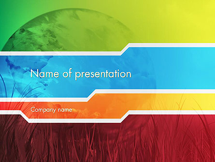 Pied Planet Presentation Template, Master Slide