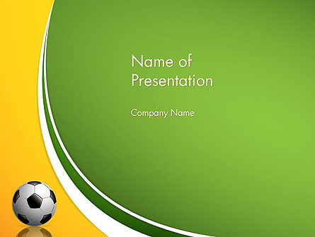 Soccer Theme Presentation Template For Powerpoint And Keynote Ppt Star