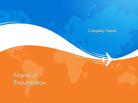 Travel Around The World Presentation Template, Master Slide