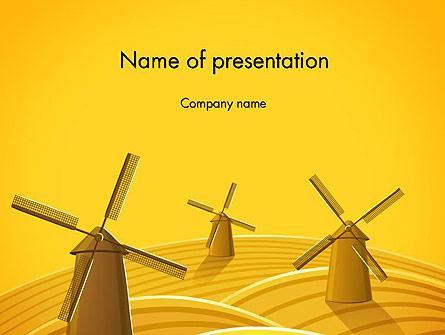 Windmills Presentation Template, Master Slide