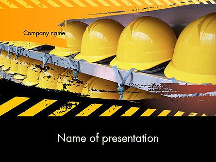 Safe at Work Presentation Template, Master Slide