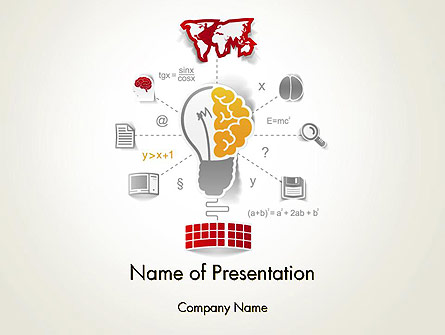 Knowledge Management Presentation Template For Powerpoint And