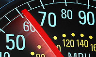 Car Speedometer Presentation Template