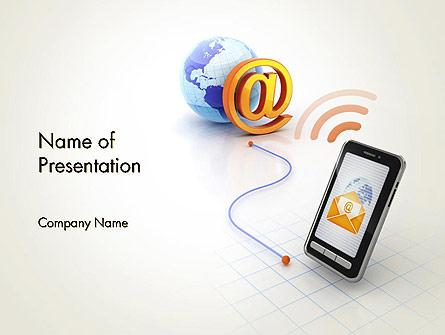 Mobile Network Presentation Template, Master Slide