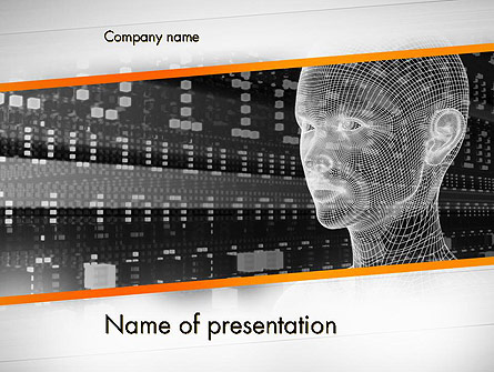 Cyber Hacking Presentation Template For Powerpoint And