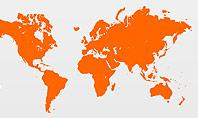 World Map Theme Presentation Template