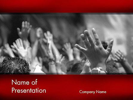 Worship Presentation Template, Master Slide