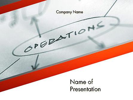 Standard Operating Procedure Presentation Template, Master Slide
