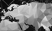 Polygonal World Map Presentation Template