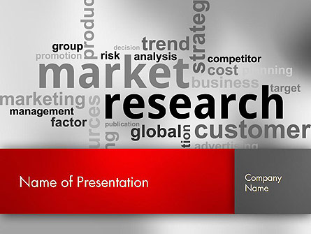 market research word cloud presentation template for powerpoint and keynote ppt star. Black Bedroom Furniture Sets. Home Design Ideas
