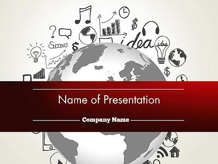 Global Knowledge Presentation Template, Master Slide