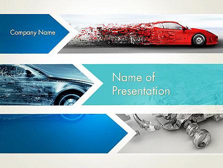Car Design Industry Presentation Template, Master Slide