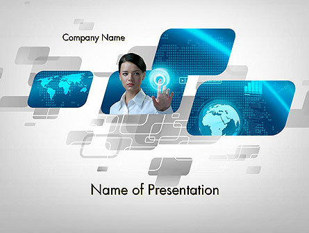 World of Business Presentation Template, Master Slide