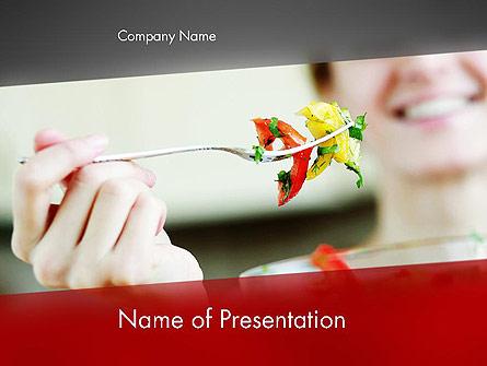 Becoming Vegetarian Presentation Template, Master Slide