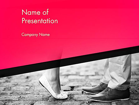 Dating Couple Presentation Template, Master Slide