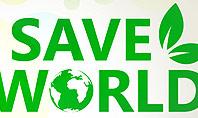 Save Nature Theme Presentation Template