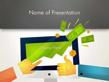 Building Profits Presentation Template, Master Slide