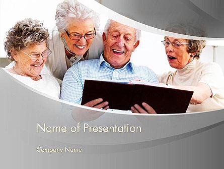 Retirement Activities Presentation Template, Master Slide