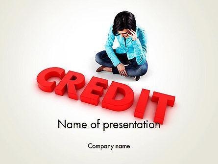 Bad Credit Presentation Template, Master Slide