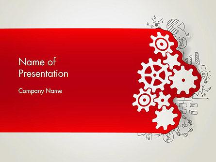 Working Business Concept Presentation Template, Master Slide
