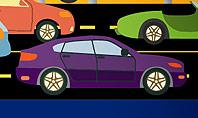 City Traffic Illustration Presentation Template