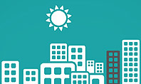 Sun Over the City Presentation Template
