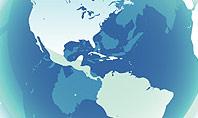 Globe Theme with Charts Presentation Template