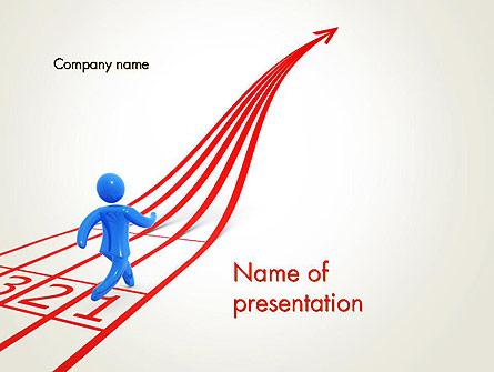 Contest Presentation Template, Master Slide
