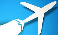 Plane Illustration Presentation Template