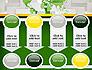 Green World Map on Gray Blocks slide 18