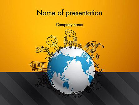 Global Ecology Presentation Template, Master Slide