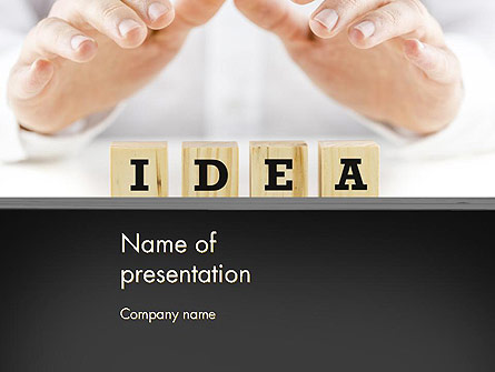 Idea Protection Presentation Template, Master Slide