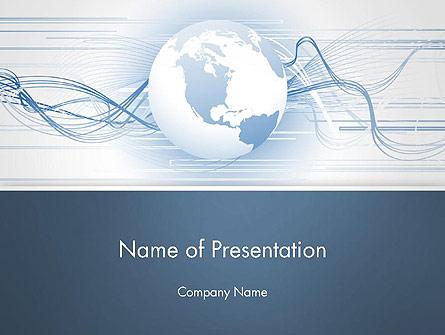 Next Generation Globe Presentation Template, Master Slide