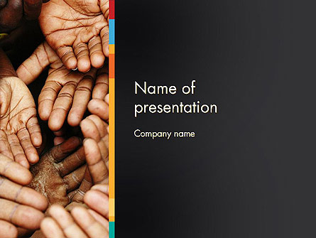Malnutrition In Third World Countries Presentation Template, Master Slide
