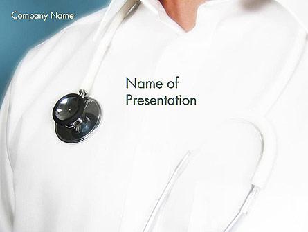 Emergency Medicine Physician Presentation Template, Master Slide